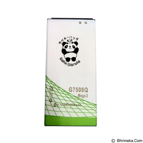 RAKKIPANDA Battery for Samsung Galaxy Mega 2 G7508Q - Handphone Battery