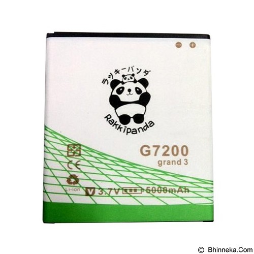 RAKKIPANDA Battery for Samsung Grand 3 G7200 - Handphone Battery