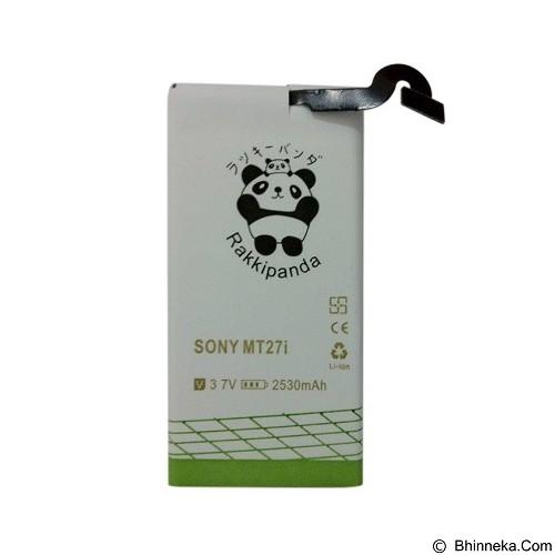 RAKKIPANDA Battery for Sony Xperia Sola MT27i - Handphone Battery