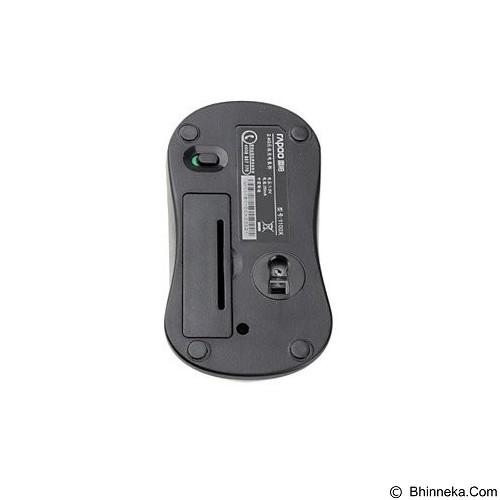 RAPOO Wireless Optical Mouse [1100X] - Black - Mouse Basic