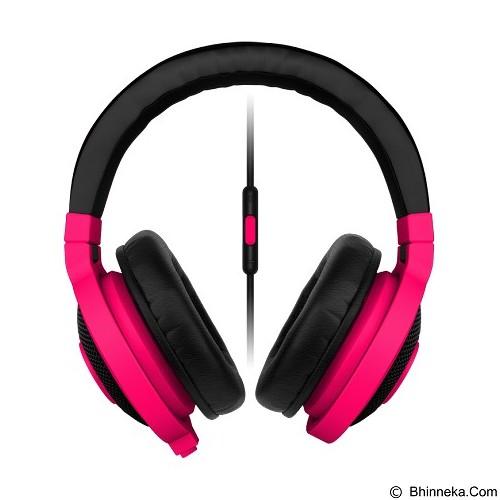 RAZER Kraken Mobile Neon [RZ04-01400300-R3M1] - Red (Merchant) - Gaming Headset