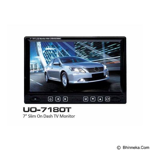 REACTOR Car LED Monitor [UO 718 OT] (Merchant) - Audio Video Mobil