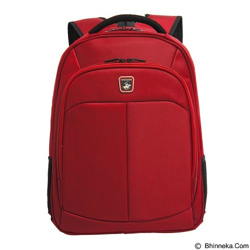 REAL POLO Backpack [5876] - Red - Notebook Backpack