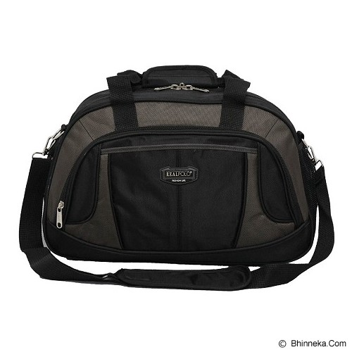 REAL POLO Travel Bag [6303] - Black - Travel Bag