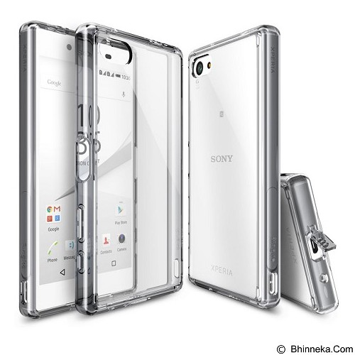 REARTH Case Ringke Fusion for Sony Xperia Z5 Compact - Crystal View (Merchant) - Casing Handphone / Case