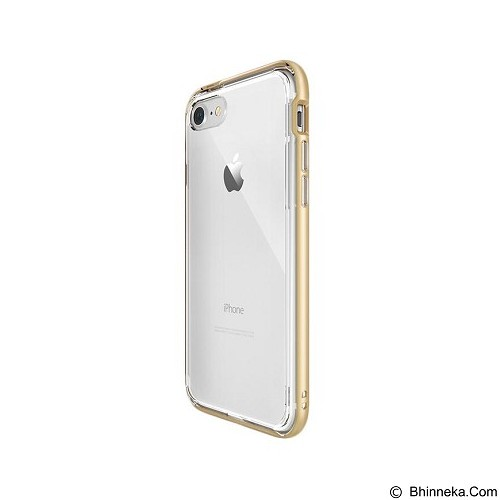 REARTH Ringke Frame Casing for iPhone 7 - Royal Gold (Merchant) - Casing Handphone / Case