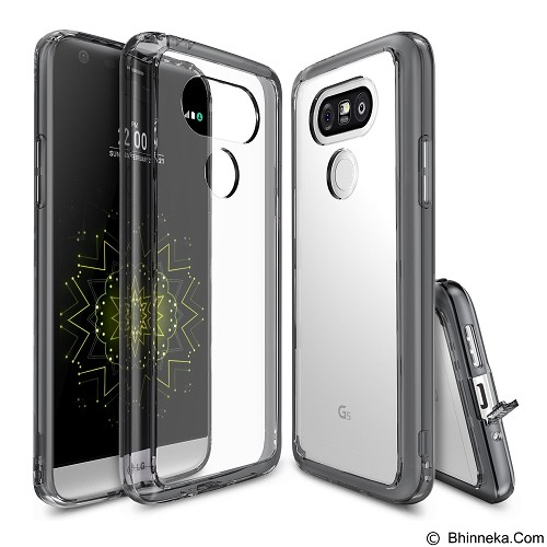 REARTH Ringke Fusion Case for LG G5 / G5 SE - Smoke Black - Casing Handphone / Case