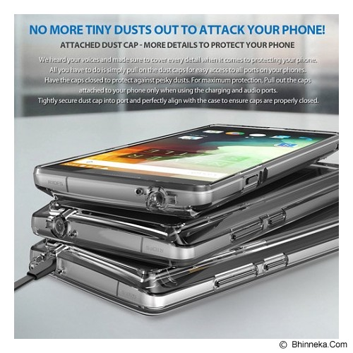 REARTH Ringke Fusion One Plus Two [RFOP004] - Smoke Black - Casing Handphone / Case