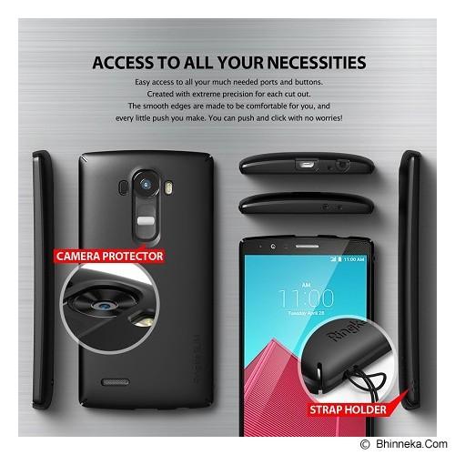 REARTH Ringke Slim LG G4 [RSLG020] - SF Black - Casing Handphone / Case