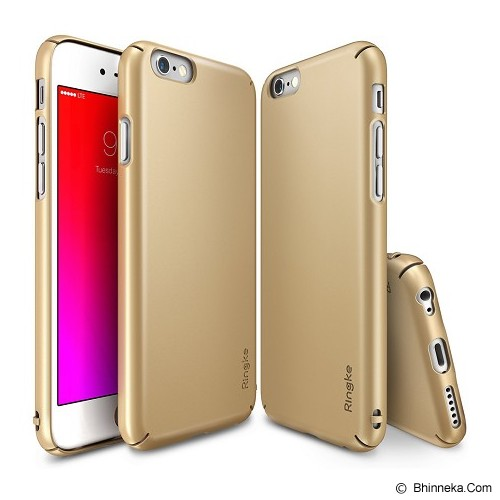 REARTH Ringke Slim iPhone 6S [RSAP066] - Royal Gold - Casing Handphone / Case