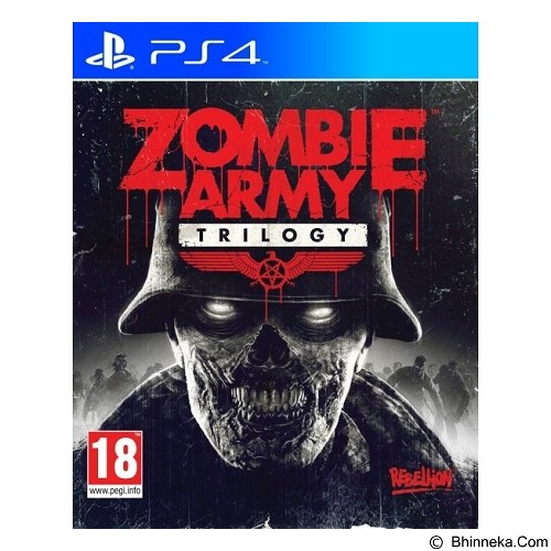 REBELLION DVD PS4 Zombie Army (Merchant) - CD / DVD Game Console