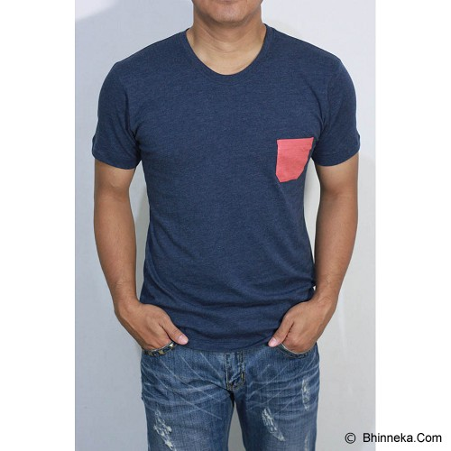 REDWHITE1945 Pocket T-Shirt Size M - Navy Blue