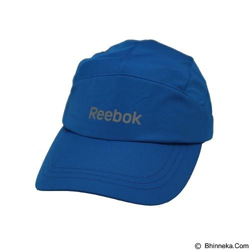 REEBOK Running Cap [MC-R6021] - Blue Sport - Topi Pria