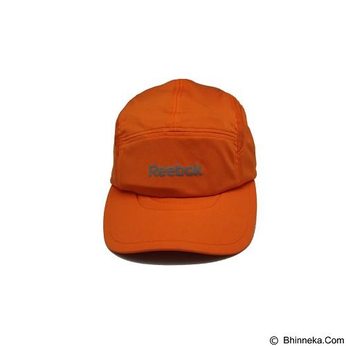 REEBOK Running Cap [MC-R6051] - Energy Orange - Topi Pria