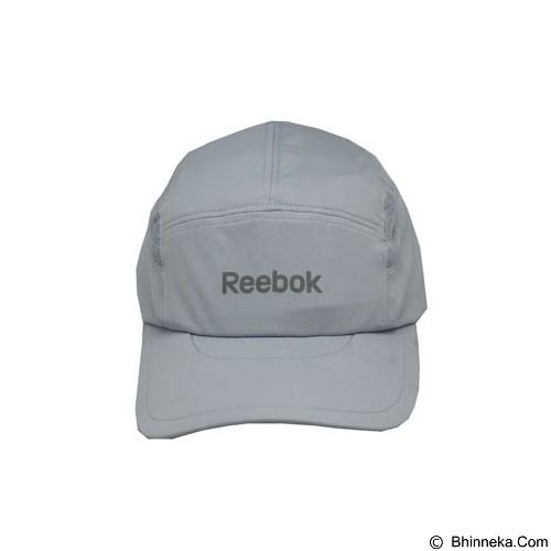 REEBOK Running Cap [MC-R6052] - Ash Grey - Topi Pria