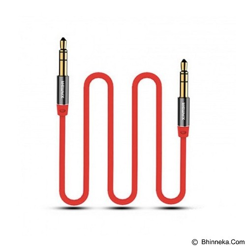 REMAX Audio Cable 3.5 AUX 2M [RL-L200] - Red (Merchant) - Cable / Connector Analog
