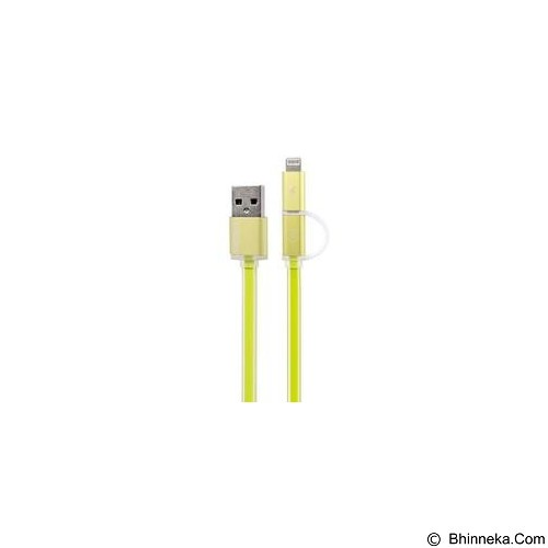 REMAX Aurora Double Sided Cable 2in1 - Green - Cable / Connector Usb