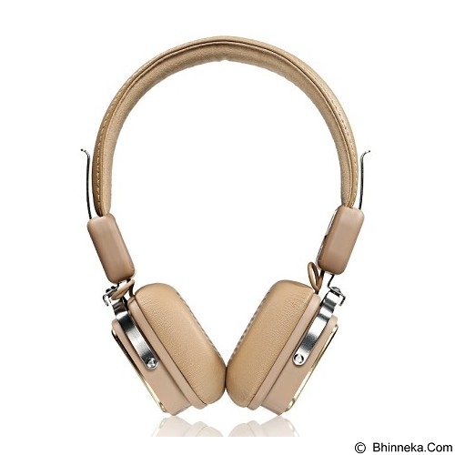 REMAX Bluetooth Headphone RB200HB - Brown (Merchant) - Headset Bluetooth