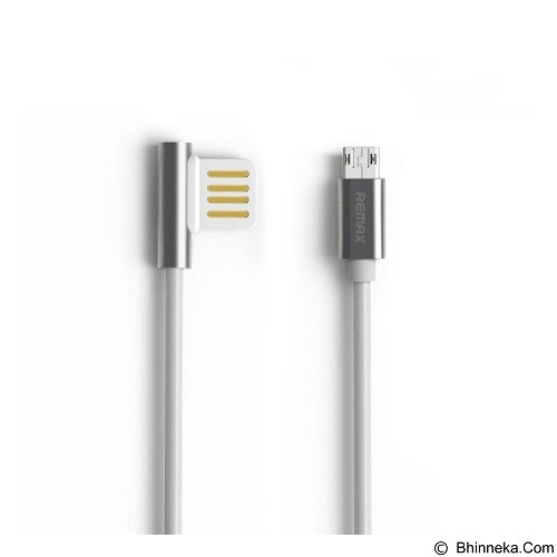 REMAX Cable Data Emperor Micro USB [RC-054M] - Grey (Merchant) - Cable / Connector Usb