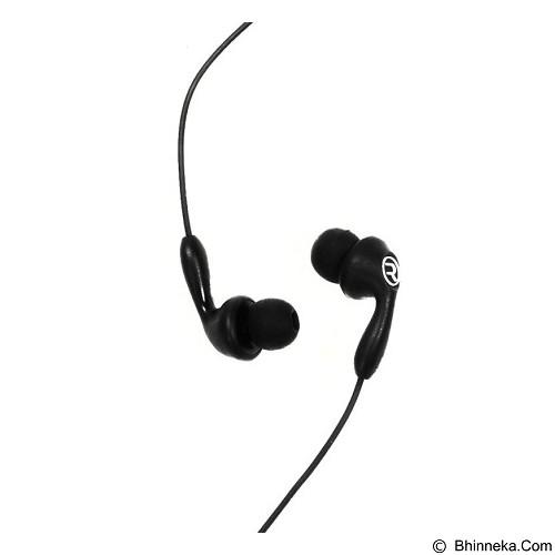 REMAX Candy Earphone In-ear [RM-505] - Black (Merchant) - Earphone Ear Monitor / Iem