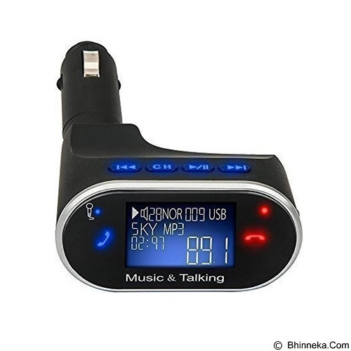 REMAX Car MP3 Player with Bluetooth Hands-free Phone Calls [BT630] (Merchant) - Mp3 Players