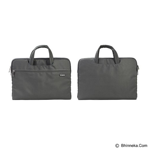 REMAX Computer Bag For Laptop 12 inch [301 Series] - Black (Merchant) - Notebook Carrying Case