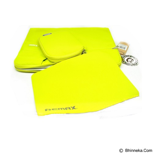 REMAX Computer Bag For Laptop 12 inch [301 Series] - Yellow (Merchant) - Notebook Carrying Case