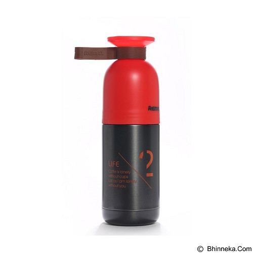 REMAX Cool Vacuum Bottle Cup With Thermos [RCUP-02] - Red (Merchant) - Botol Minum