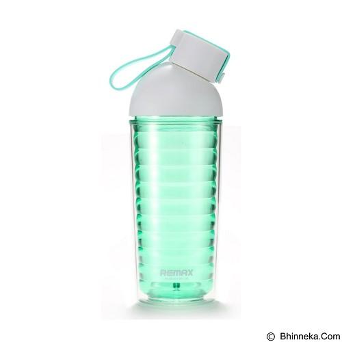 REMAX Dias Water Bottle 370ml [RCUP-10] - Green (Merchant) - Botol Minum