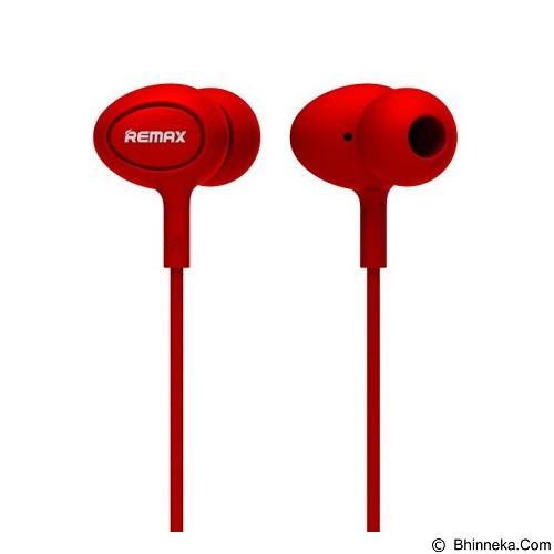 REMAX Earphone [RM515] - Red (Merchant) - Earphone Ear Monitor / Iem