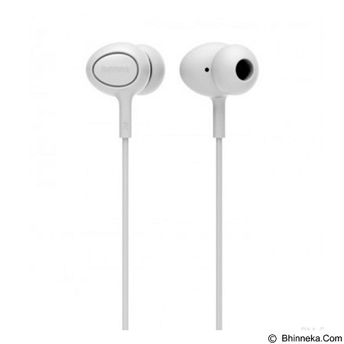 REMAX Earphone [RM515] - White (Merchant) - Earphone Ear Monitor / Iem