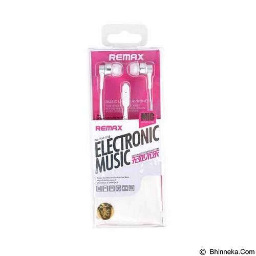 REMAX Earphone [RM535] - White (Merchant) - Earphone Ear Monitor / Iem