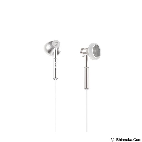 REMAX Earphone with Microphone Volume Control [RM-305M] - Silver (Merchant) - Earphone Ear Bud