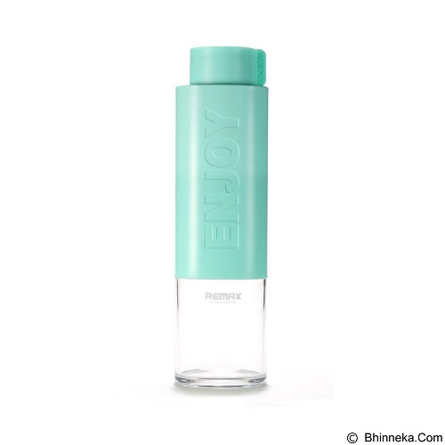 REMAX Enjoy Series Water Bottle 530 ml [RCUP-09] - Green (Merchant) - Botol Minum