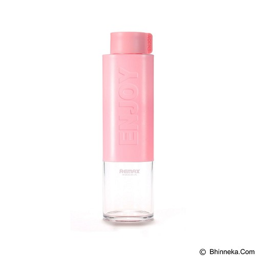 REMAX Enjoy Series Water Bottle 530 ml [RCUP-09] - Pink (Merchant) - Botol Minum
