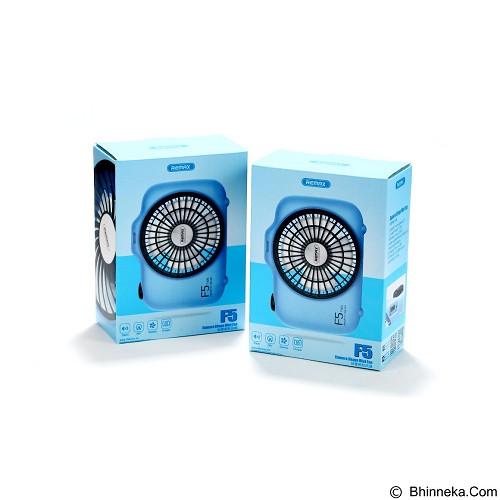 REMAX F5 Camera Shape Mini Fan - White (Merchant) - Kipas Angin Meja