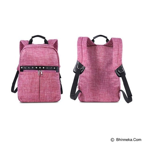 REMAX Fashion Notebook Bags Double 511 - Black (Merchant) - Notebook Backpack