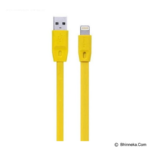 REMAX Full Speed Cable iPhone USB 1M - Yellow (Merchant) - Cable / Connector Usb