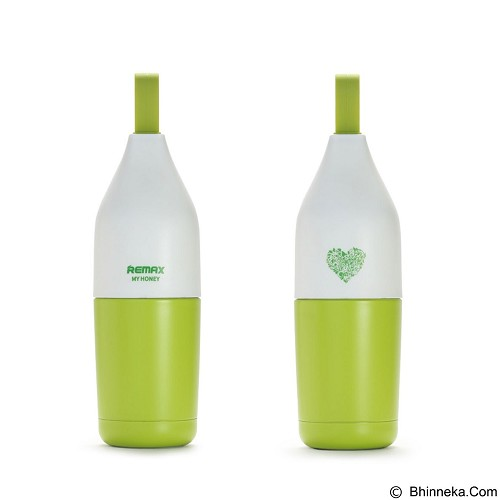 REMAX Honey Stainless Steel Thermos 300 ml [RCUP-06] - Green (Merchant) - Botol Minum