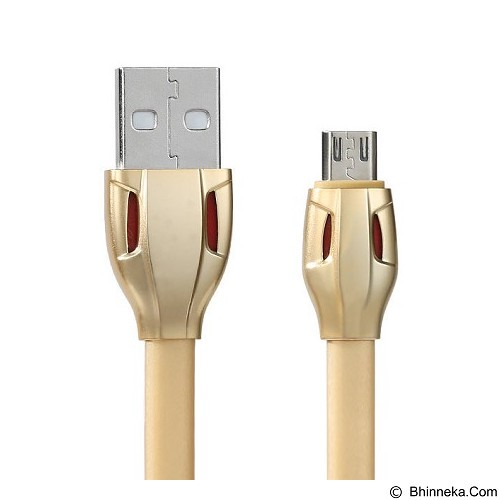 REMAX Laser Cable Micro USB 1M - Gold (Merchant) - Cable / Connector Usb