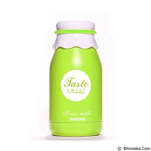 REMAX Milk Vacuum Bottle Cup with Thermos [RCUP-03] - Green (Merchant) - Botol Minum