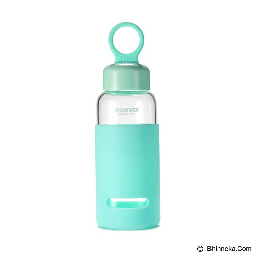 REMAX Orient Water Bottle 420ml [RCUP-08] - Blue (Merchant) - Botol Minum