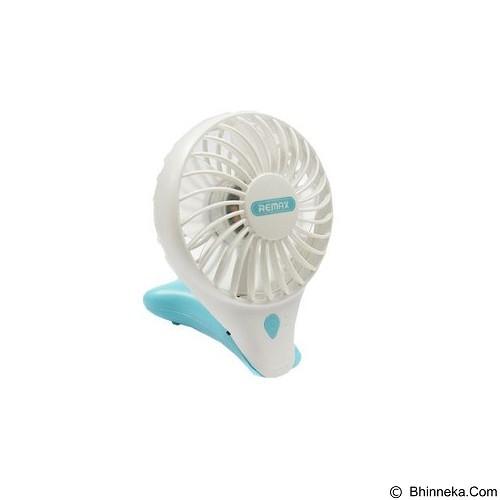 REMAX Original Mini F11 Mermaid Fan Cooling Handheld - Blue (Merchant) - Kipas Angin Meja