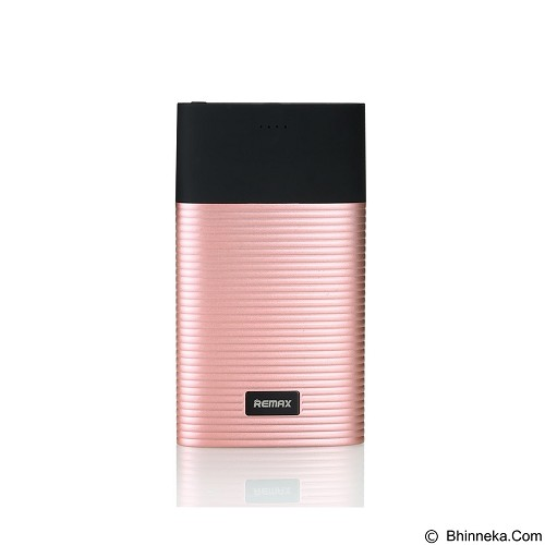 REMAX Perfume Powerbank 10000mAh [RPP-27] - Pink (Merchant) - Portable Charger / Power Bank