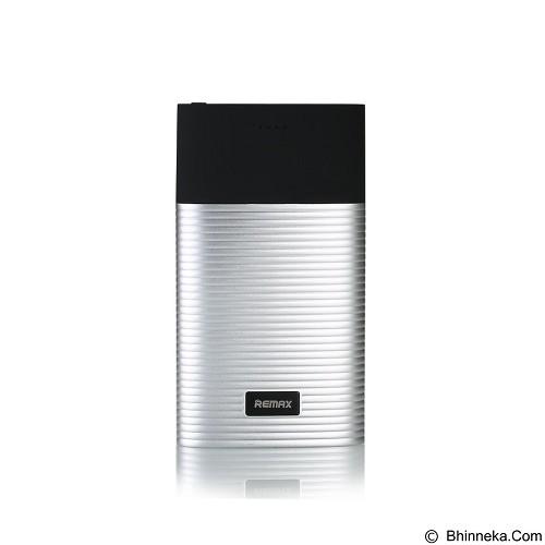 REMAX Perfume Powerbank 10000mAh [RPP-27] -  Silver (Merchant) - Portable Charger / Power Bank