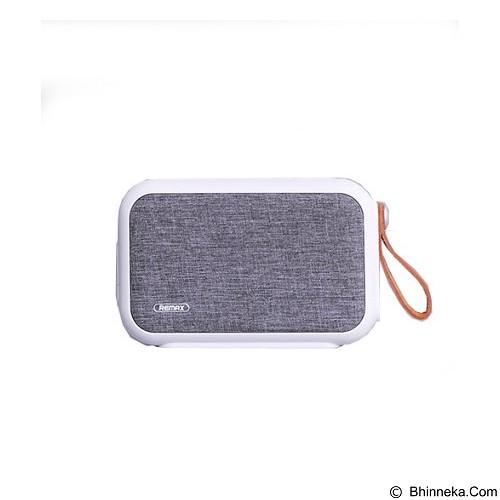 REMAX Portable Fabric Bluetooth Speaker [RB-M16] - White (Merchant) - Speaker Bluetooth & Wireless