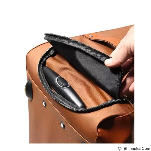 REMAX Premium Exclusive Travel Bag [618] - Brown (Merchant) - Travel Bag