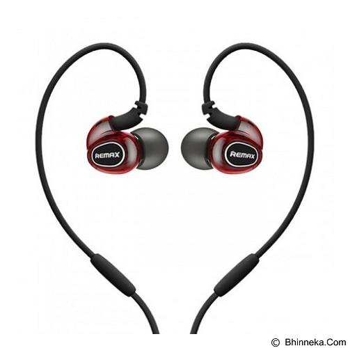 REMAX Pro Sport In Ear Earphone [RM-S1] - Red (Merchant) - Earphone Ear Monitor / Iem