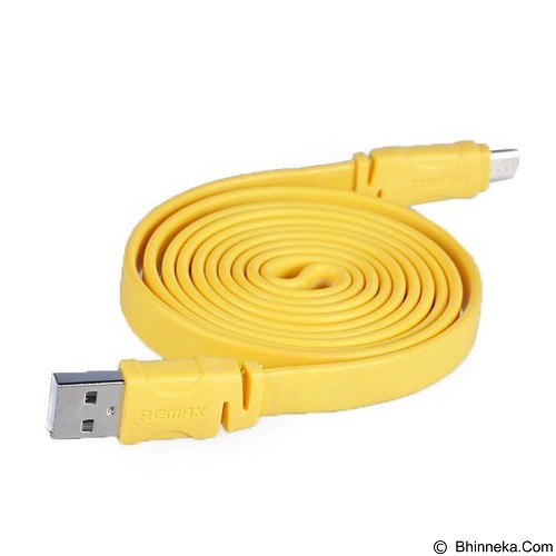 REMAX Scale Lightning Micro USB - Yellow - Cable / Connector USB