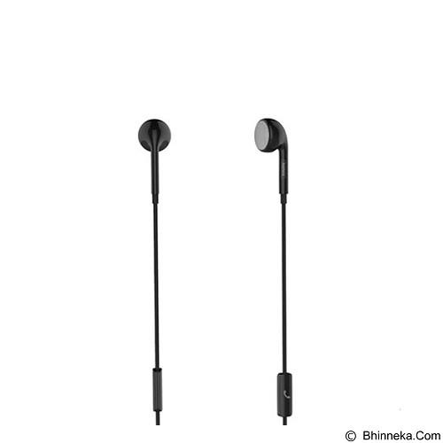 REMAX Single Side Earphone [RM-101] - Black (Merchant) - Earphone Ear Monitor / Iem